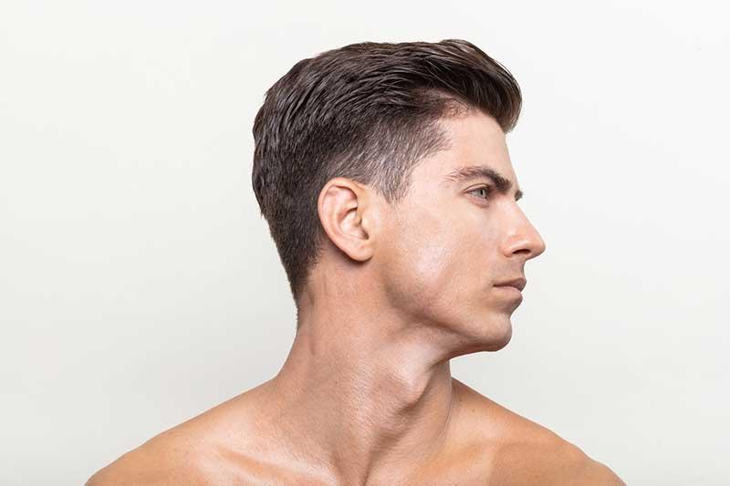 traitement du visage homme
