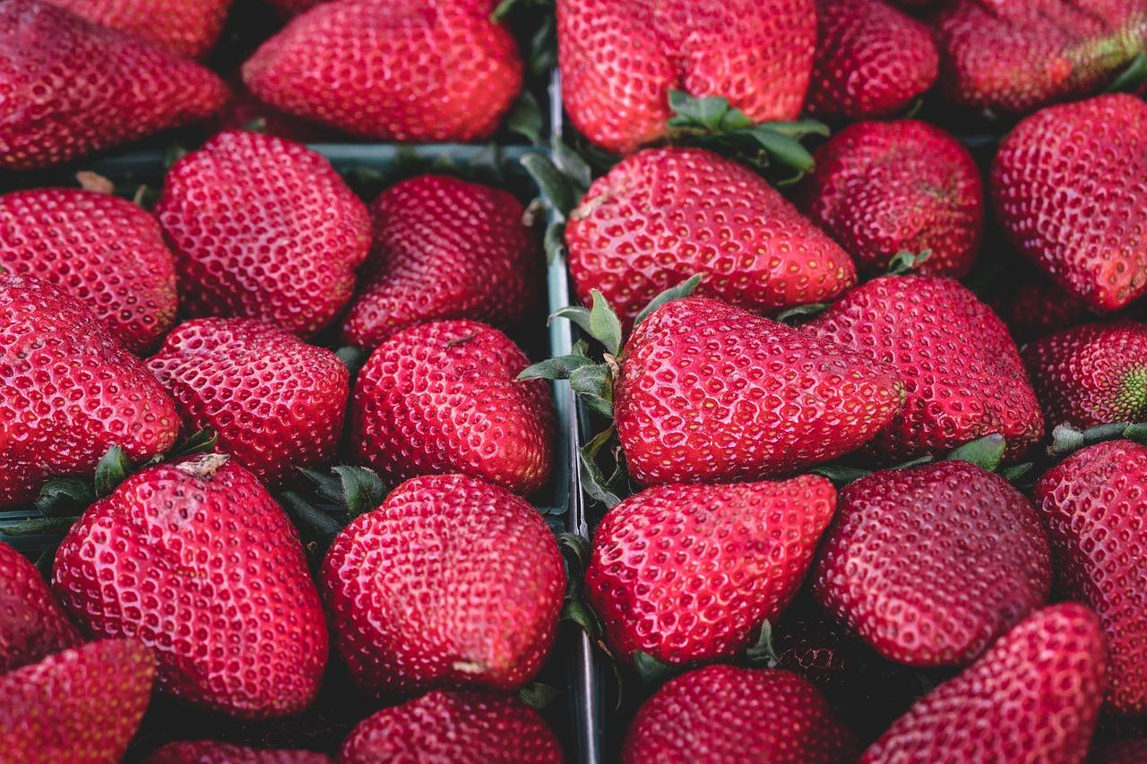 jambe de fraises