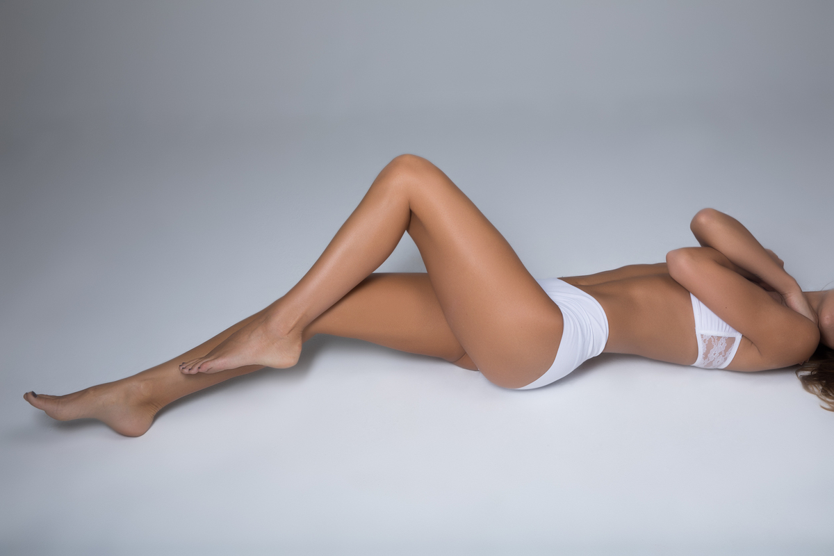 Epilation laser des jambes